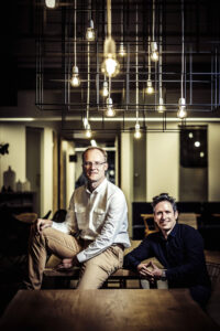 Cloudalize's founders Benny Willen (left) and Jeffrey Meesemaecker (right) © Jonas Lampens