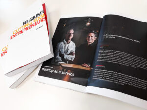 Cloudalize featured in Belgium's cutting-edge entrepreneurs - Eric Kenis