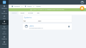 Creating projects in Cloudalize - Step 4