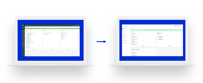 The evolution of Cloudalize's virtual and secure desktop from the current version to the new version