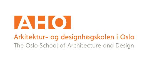 AHO logo Architektur- og designhogskolen Oslo