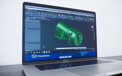 Use your AutoCAD software licence on a Cloudalize Cloud Workstation on the Cloudalize Cloud Platform
