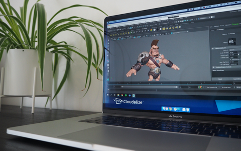 Autodesk_Maya_animation_on_the_Cloud_GPU-powered_cloudalize_desktop-as-a-service_technology_no_lag_great_performance_high-speed_cousin_IT