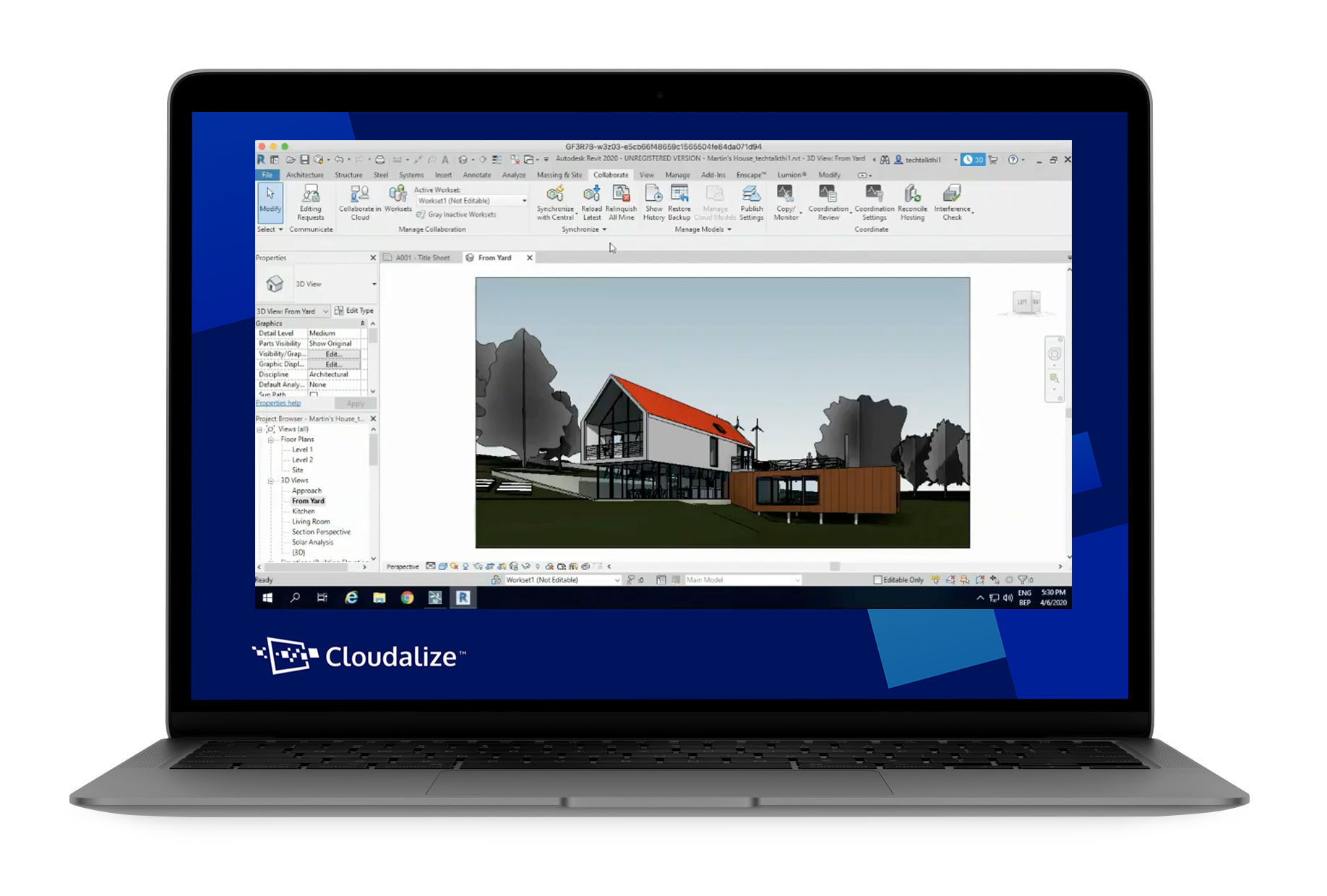 Cloudalize's GPU-powered Work Stations power many architectural processes, workflows and programs such as Autodesk Revit on the Cloud.
