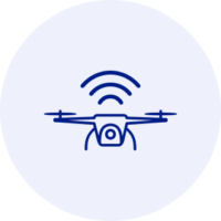 Connect directly to devices like aerial drones with 5G on the Cloudalize Cloud Platform